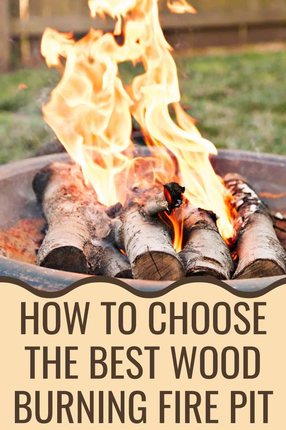 How to choose the best wood burning fire pit