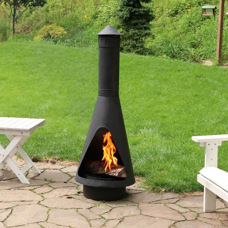 wood burning chimenea fire pit