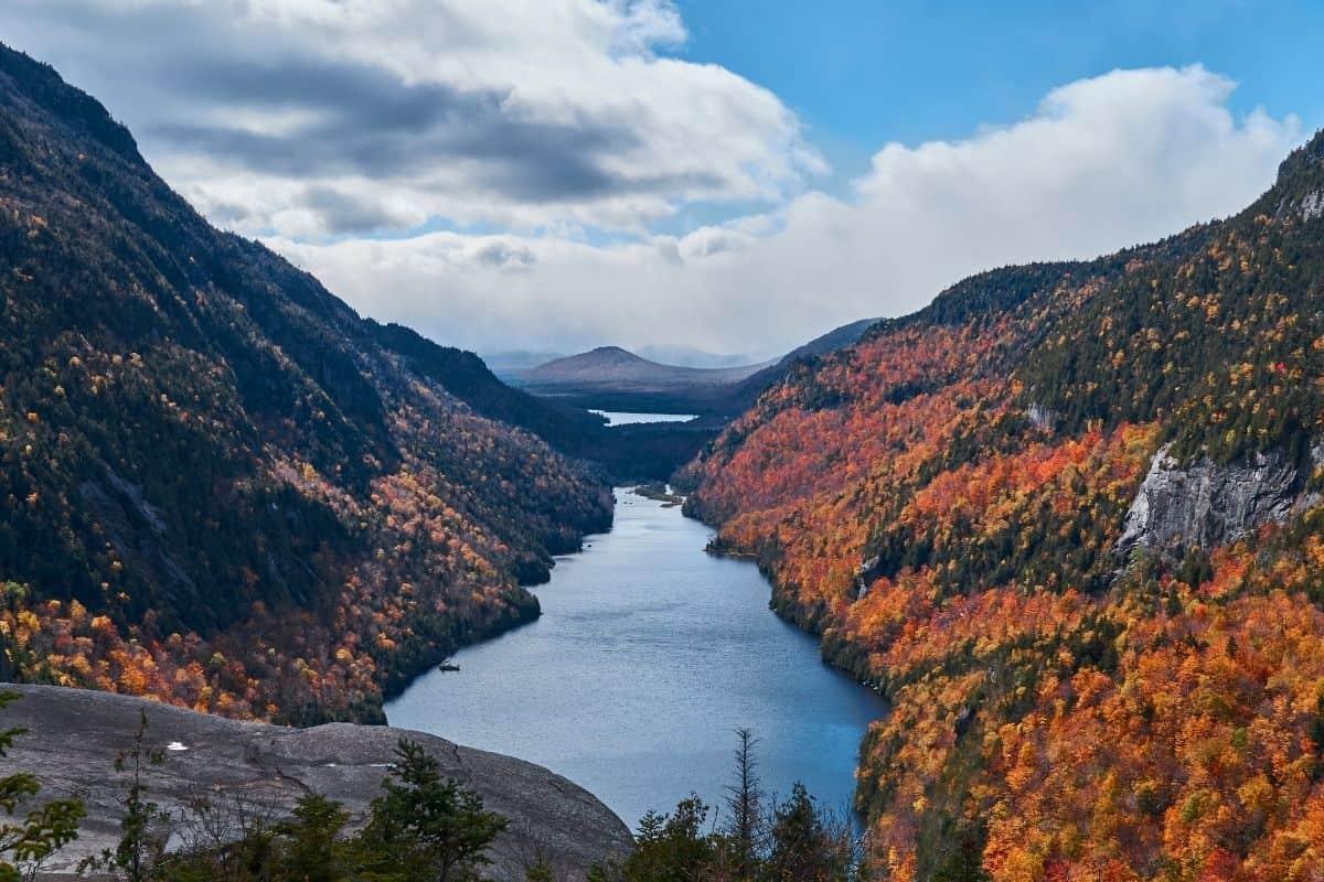 autumn in the Adirondack Mountains