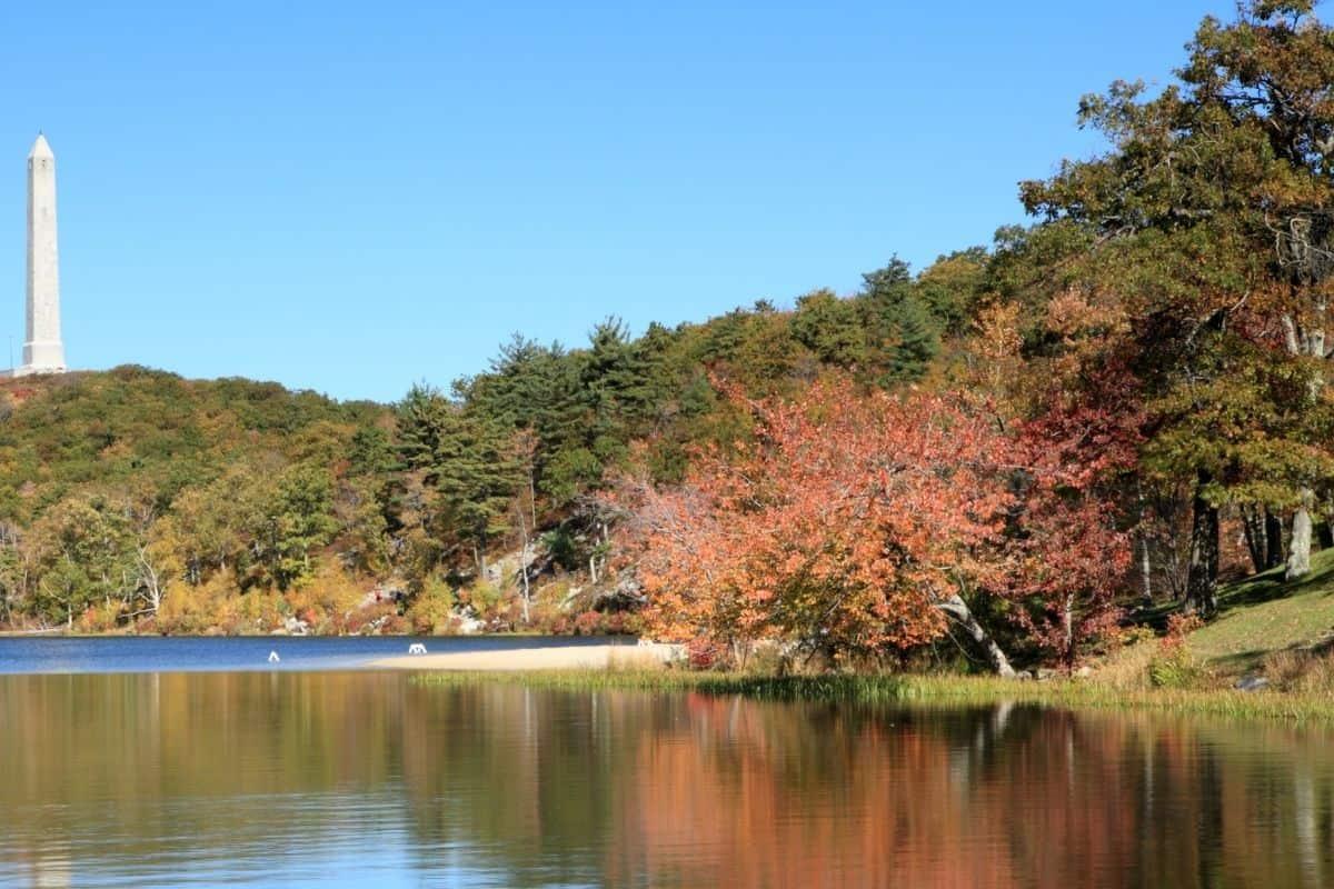 Goddard Memorial State Park in the autumn