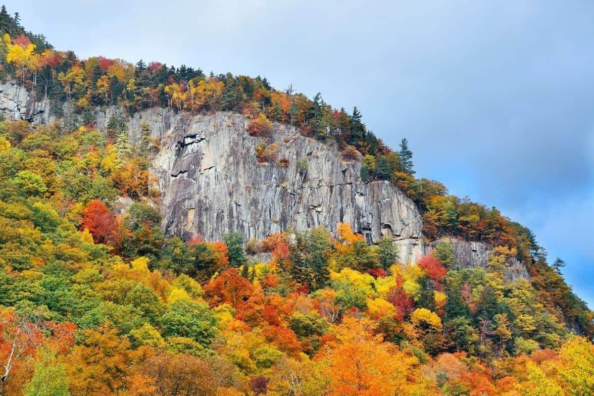 The White Mountains in the fall